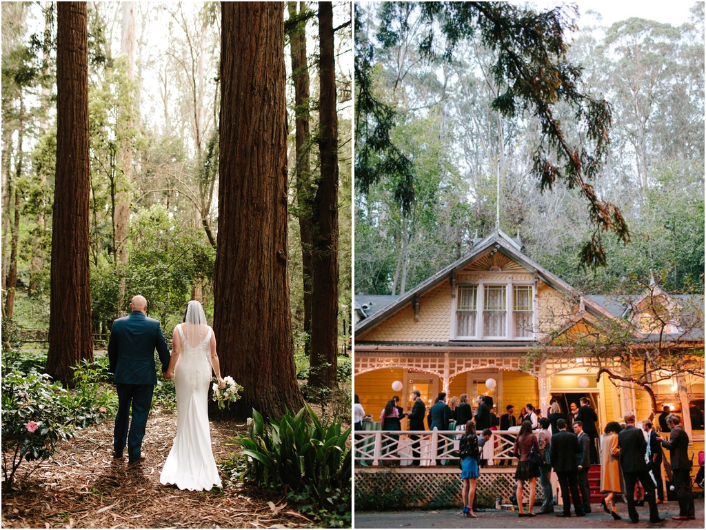 Stern Grove wedding photos