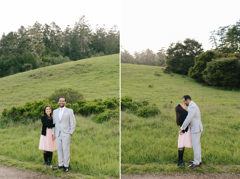 Dreamy Point Reyes Engagement Photos in the forest // SimoneAnne.com