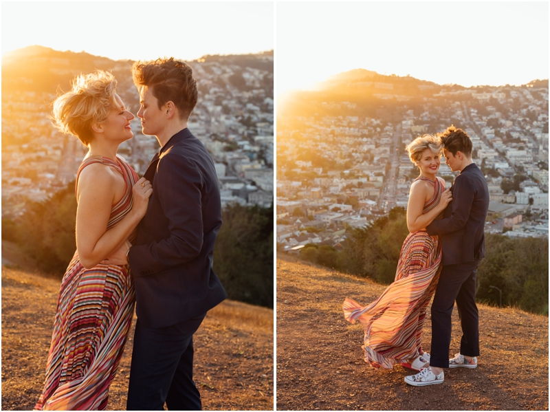 Super stylish San Francisco engagement photos / San Francisco engagement photographer / Love wins / Engayged / LGBTQ Wedding Photographer / LGBTQ Engagement // SimoneAnne.com
