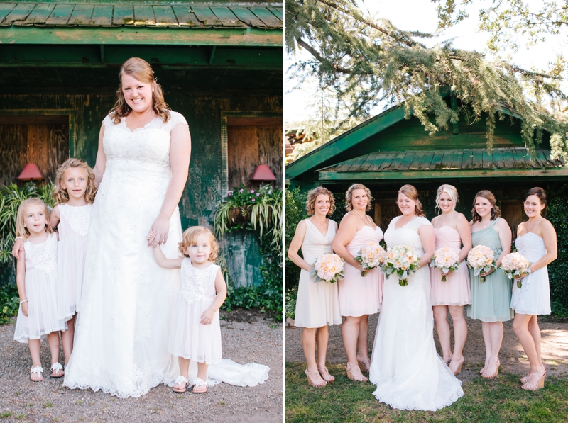 Stunning DIY & vintage inspired wedding in a barn at the Oak Tree Farms in Lodi, California // SimoneAnne.com