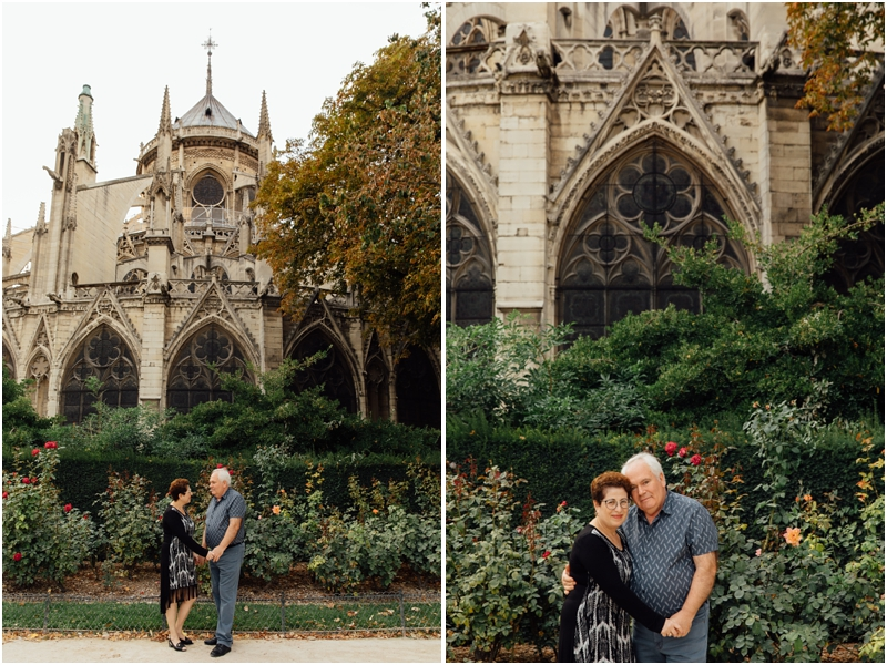 Adorable Paris couples photography / Paris engagement photos / Paris couples photos / Notre Dame couples photos / Paris photographer / Paris engagement photographer / Paris elopement photographer // SimoneAnne.com