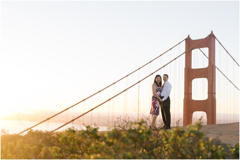 Jenny and Tim's San Francisco Engagement Photos / San Francisco Wedding Photographer // SimoneAnne.com
