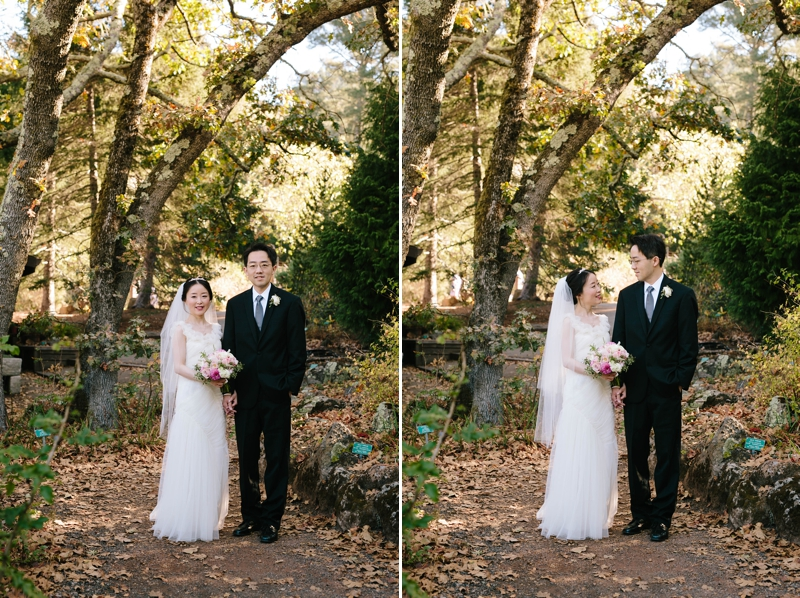 Jiajia and Weili's sweet, intimate Berkeley Brazilian Room wedding // SimoneAnne.com