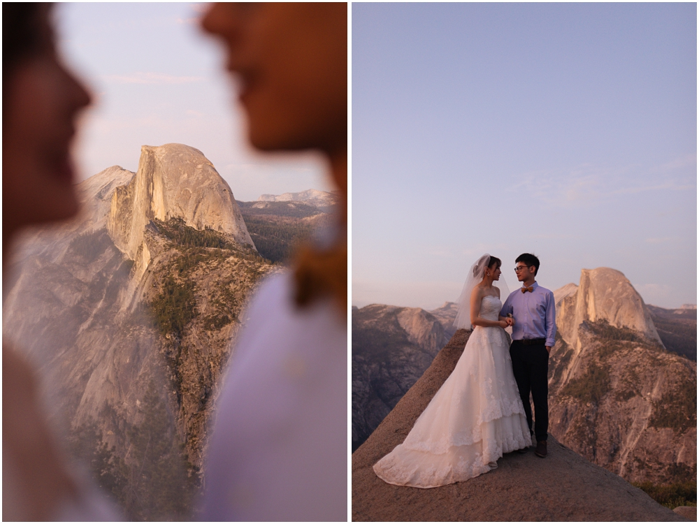 Where to Elope: Yosemite National Park in California