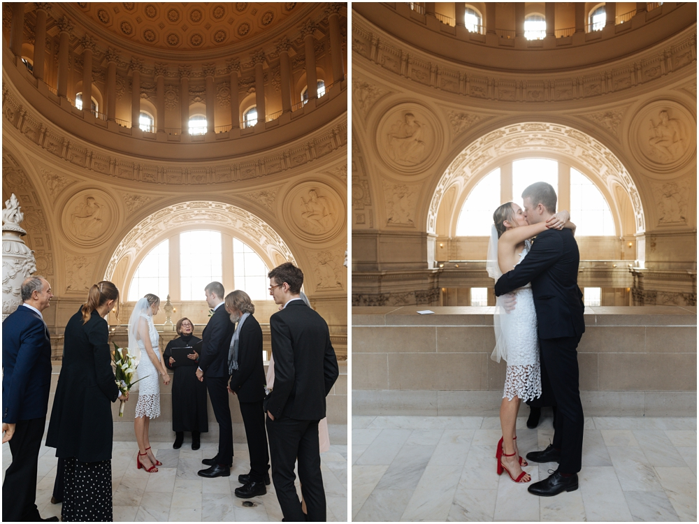 SF Courthouse Wedding