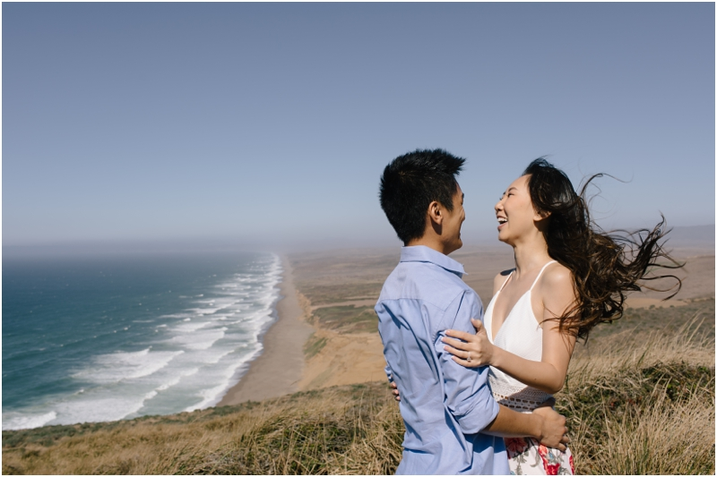 Candice and Xiao, Point Reyes Engagement Photographer // SimoneAnne.com