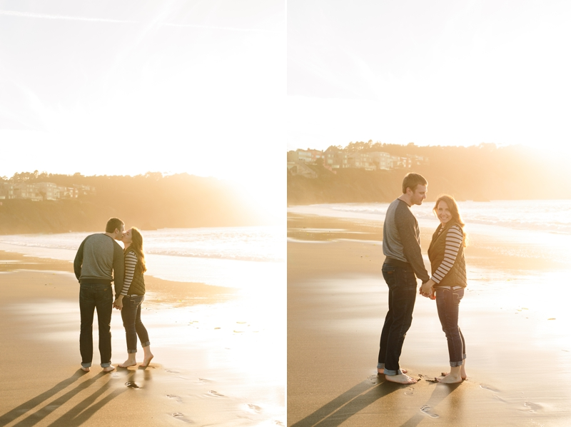 Baker Beach engagement photo location in San Francisco